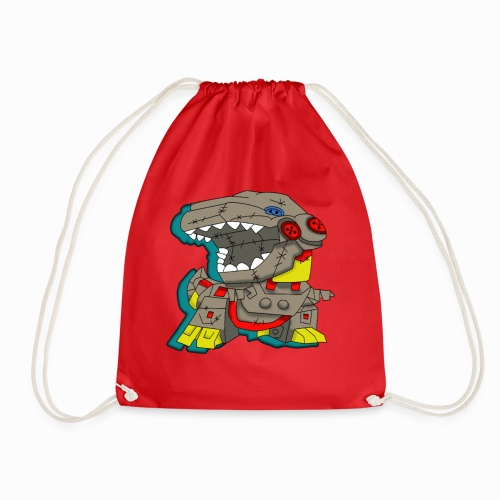 The Plushasaurus - Drawstring Bag