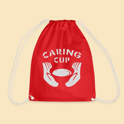 Caring Cup hellgrau - Turnbeutel