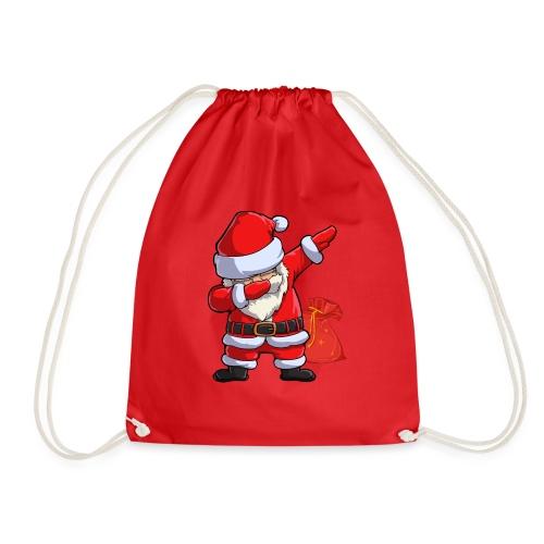 Weihnachtsmann Santa Claus - Turnbeutel