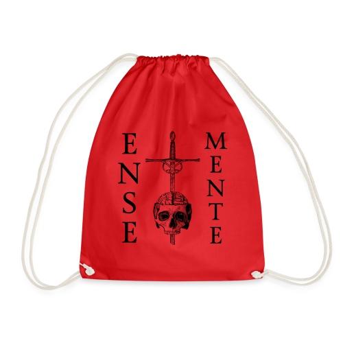 Ense et Mente Logo Black - Gymbag