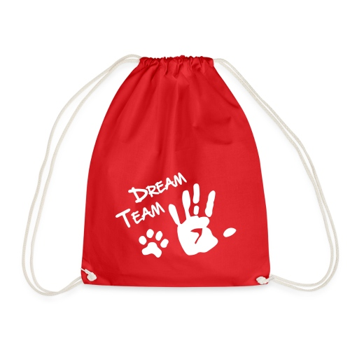 Vorschau: Dream Team Hand Hundpfote - Turnbeutel