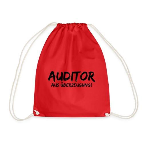 auditor aus überzeugung black - Turnbeutel