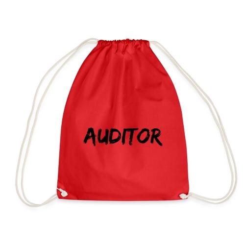 auditor black - Turnbeutel