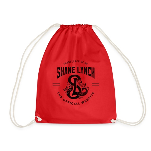 Black - Shane Lynch Logo - Drawstring Bag