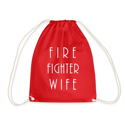 Firefighterwife - Turnbeutel