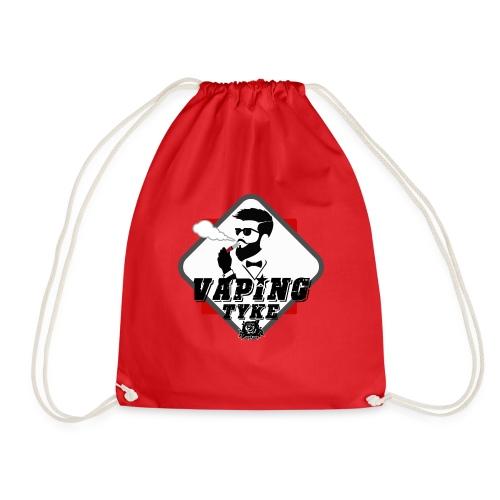 the Vaping tyke - Drawstring Bag