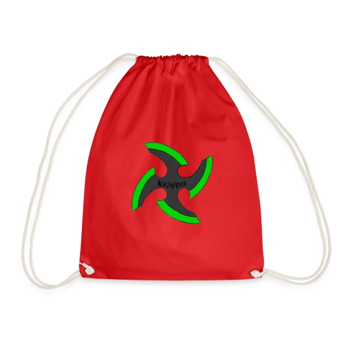 black-ronin-throwing-star-jpg_1 - Drawstring Bag