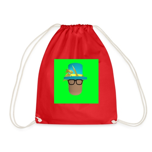 MrWhatWhat Logo Merch - Drawstring Bag