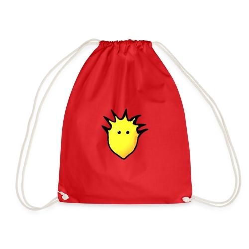 Spikey Lemon logo 2 - Drawstring Bag