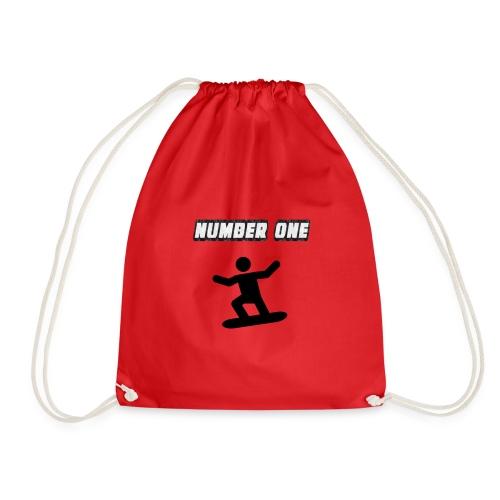 Number One Snowboarder - Drawstring Bag