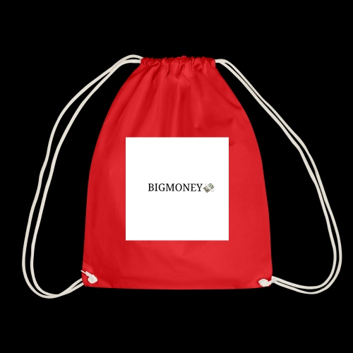 BigMoney hvit stor logo - Gymbag