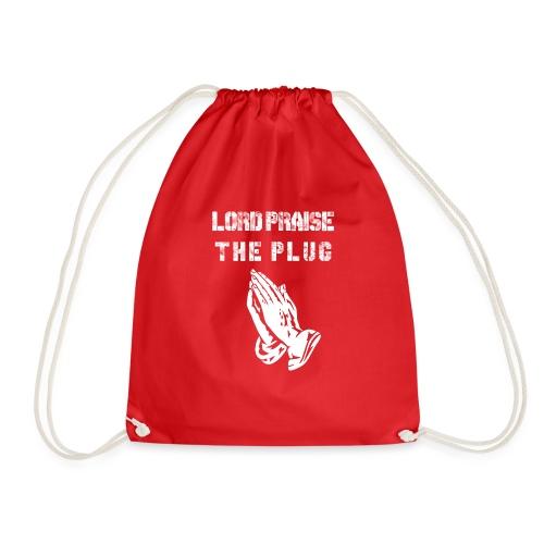 Lord Praise The Plug - Drawstring Bag
