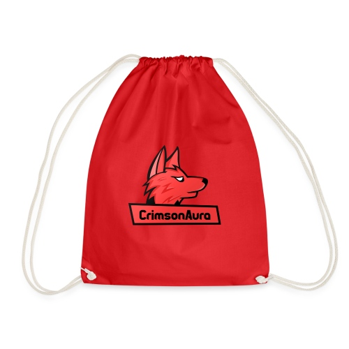 CrimsonAura Logo Merchandise - Drawstring Bag