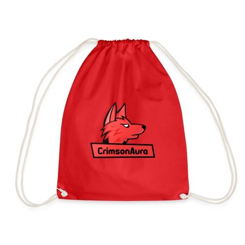 CrimsonAura Logo Merchandise - Drawstring Bag