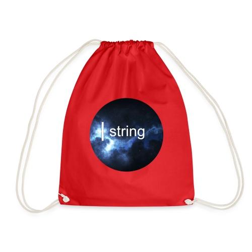 string Circle - Drawstring Bag