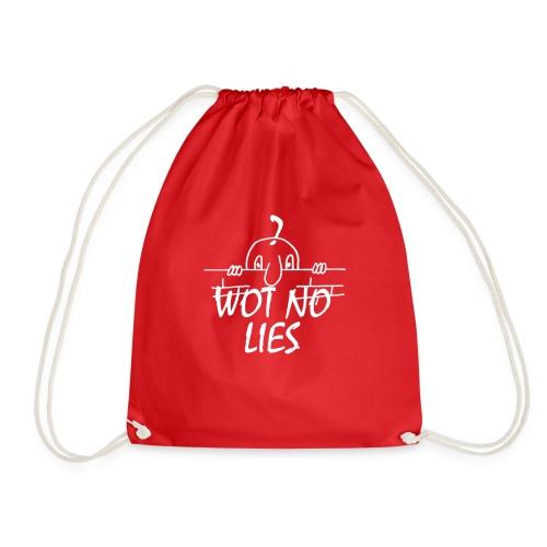 WOT NO LIES - Drawstring Bag