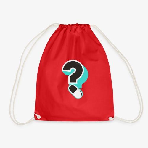 Drug Checking Day logo question mark capsule - Gymtas
