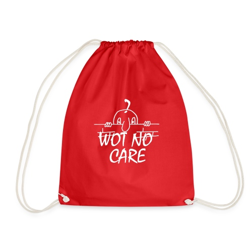 WOT NO CARE - Drawstring Bag