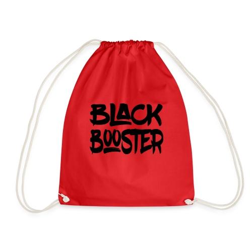 Black booster - Drawstring Bag