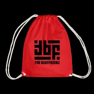 the beatfreekz logo 3 black - Turnbeutel