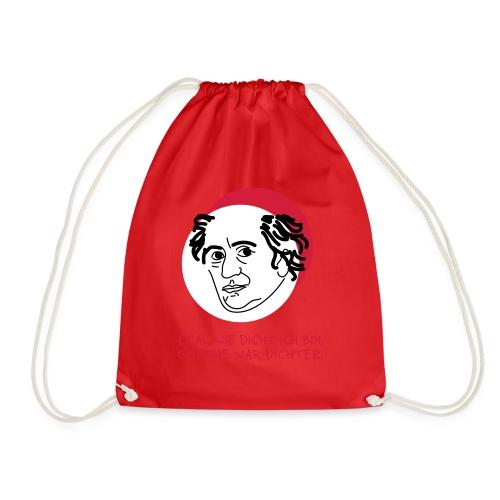 Goethe war Dichter - Turnbeutel