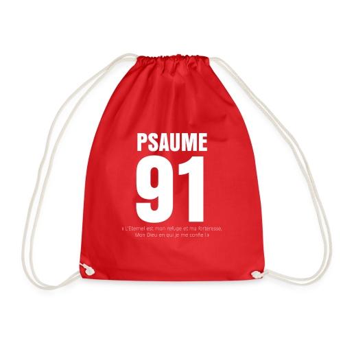 Psaume 91 eternel mon refuge en blanc - Sac de sport léger
