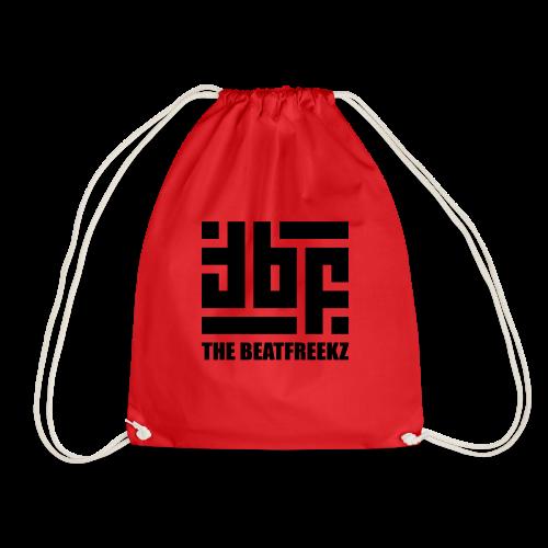 the beatfreekz logo 3 black - Drawstring Bag