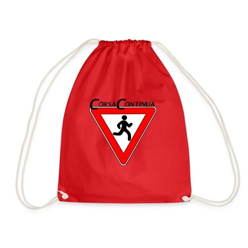 Logo Corsa Continua - Sacca sportiva