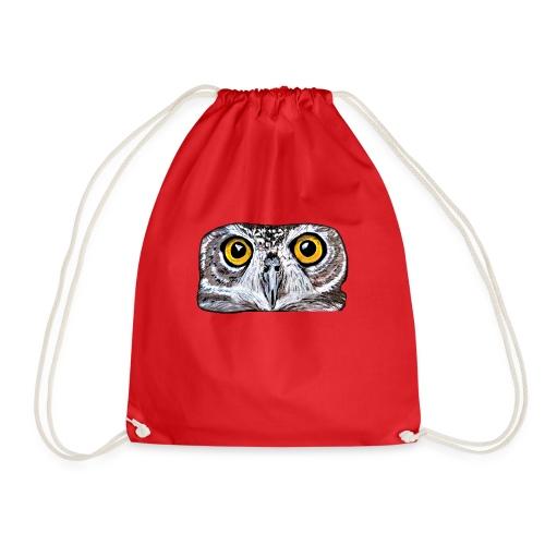 Owl eyes - Drawstring Bag