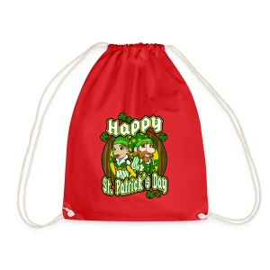 St- Patricks Day couple holiday gift surprise - Turnbeutel