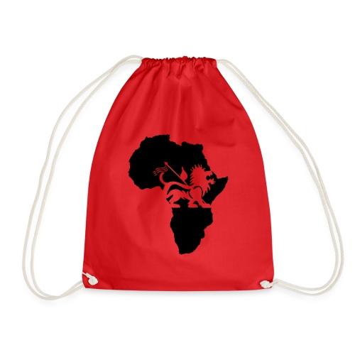 lion_of_judah_africa - Drawstring Bag