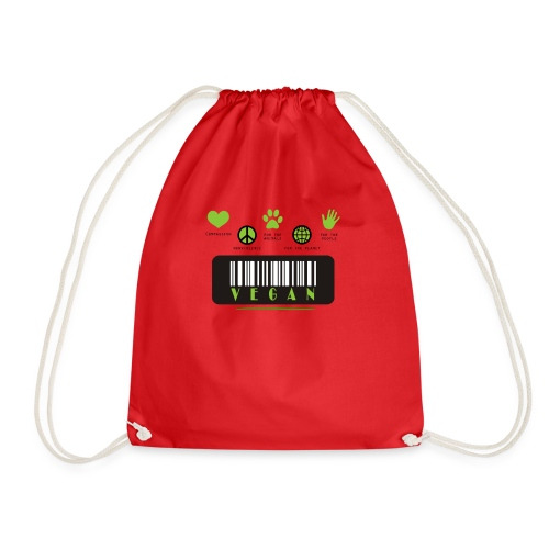 Vegan Collection - Drawstring Bag