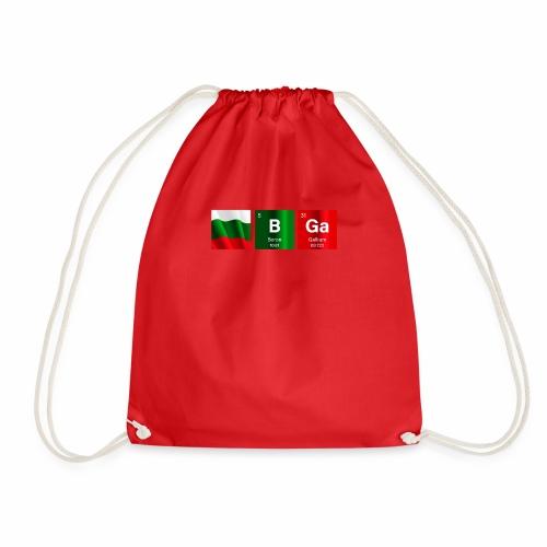 Bulgaria Flag BGa Chemical Element Periodic Table - Drawstring Bag