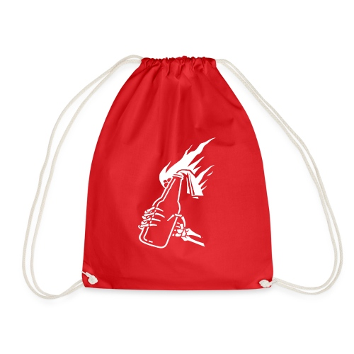 Skeleton Molotov - Drawstring Bag