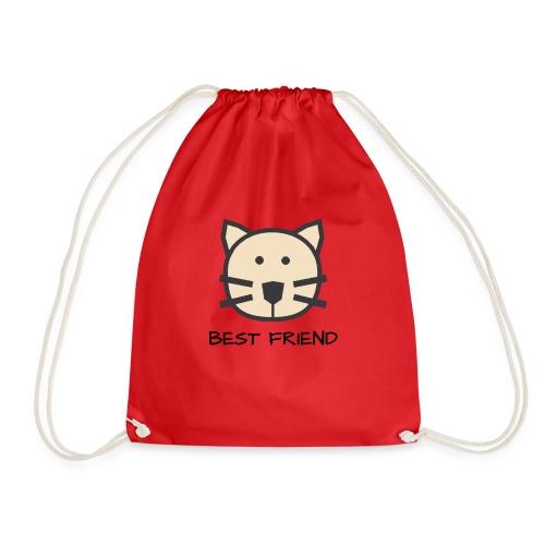 Katzen - Best Friends - Turnbeutel