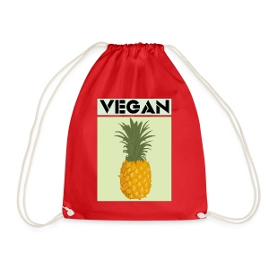 VEGAN PINEAPPLE - Drawstring Bag