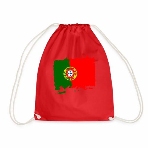 Portugal bandeira - Portugal Flagge - flag - Turnbeutel