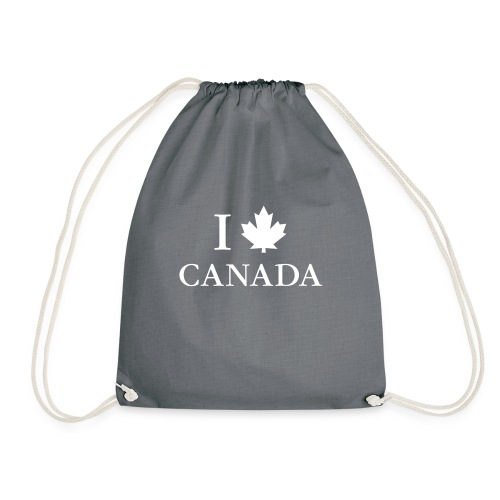 I love Canada Ahornblatt Kanada Vancouver Ottawa - Drawstring Bag