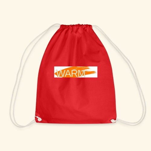 The only way is Warm - Drawstring Bag