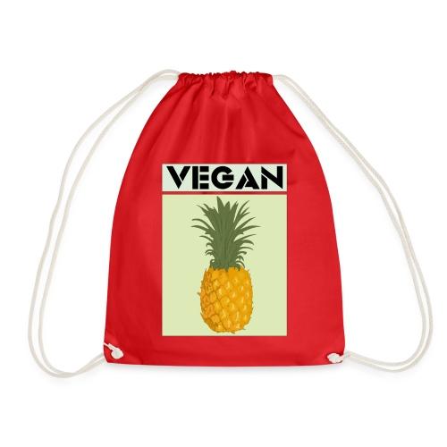 VEGAN PINEAPPLE - Drawstring Bag