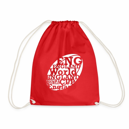 England Rugby World Cup - Drawstring Bag