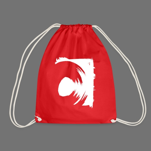 spin (white) - Drawstring Bag