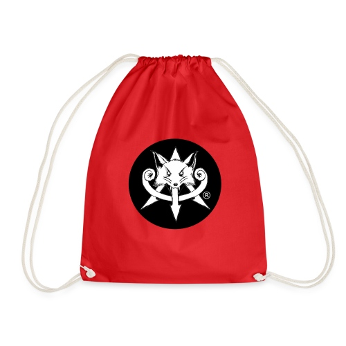 Official Attention Logo Merch - Drawstring Bag