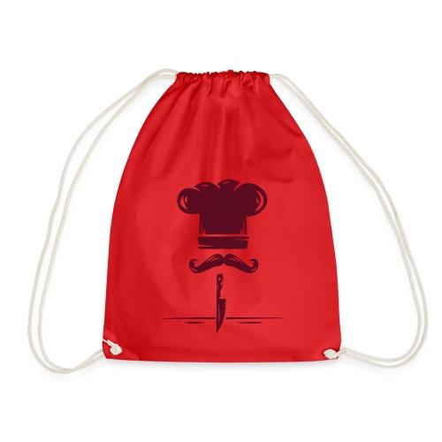 logo kitchen - Mochila saco
