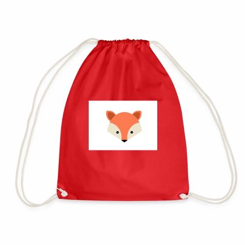 Das ist das 2 Fuchs Design - Turnbeutel