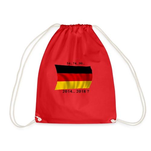 Deutschland Fussball WM Geschenkidee - Turnbeutel