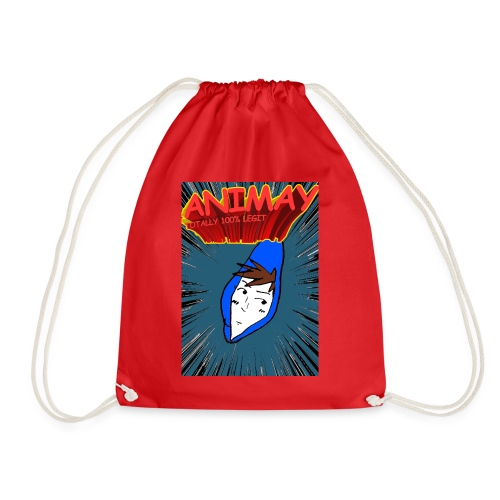 Animay: Toatally100% Legit - merch - Drawstring Bag