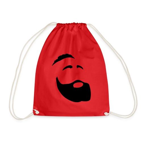 Il Barba, the Beard black - Sacca sportiva
