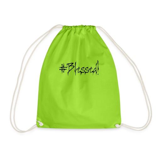 #Blessed - Drawstring Bag