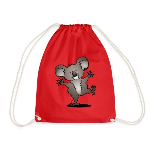 Dancing koala - Drawstring Bag